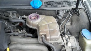 Topping up the coolant level may not be good enough